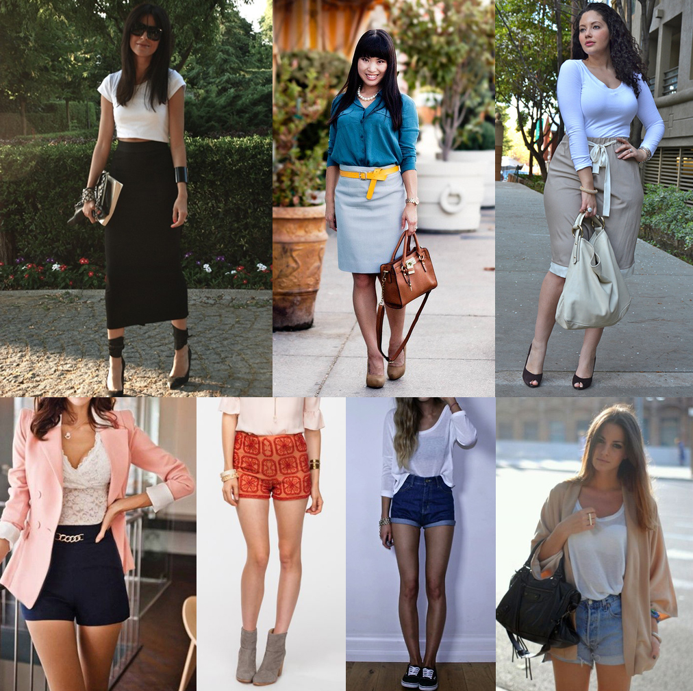 How To Style High Waisted Skirts - Dress Ala