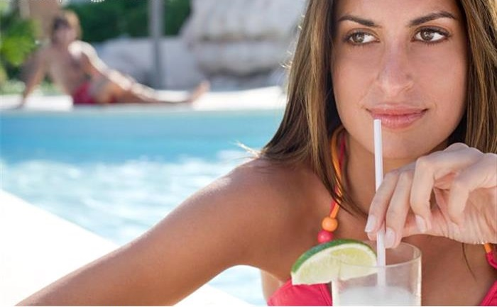 It is important to drink 6-8 glasses of water a day, especially on an active day. (Photo courtesy of visualphoto.com)