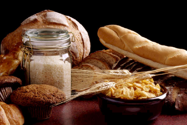 Gluten is found in foods made with wheat, oats or barley.