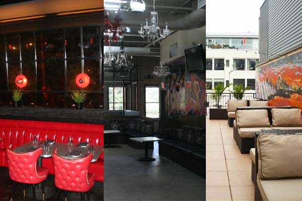 Policy's main dining room, Liberty Lounge and upstairs patio. (Mark Heckathorn/DC on Heels)