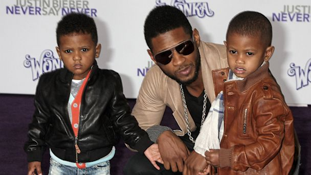Usher with his sons Naviyd (left), 4,.and Raymond Usher V. (Photo: Kathy Hutchins)