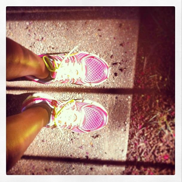 Asics 'GEL-Kayano® 19' Running Shoe (Instagram.com/konakafe)