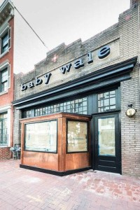 The outside of Baby Wale on 9th Street NW. (Photo: Urban Turf)