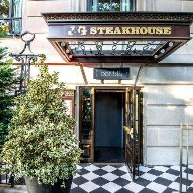J&G Steakhouse at the W Hotel downtown, which just remodeled last fall, will close permanently later this month. (Photo: Mark Heckathorn/DC on Heels)