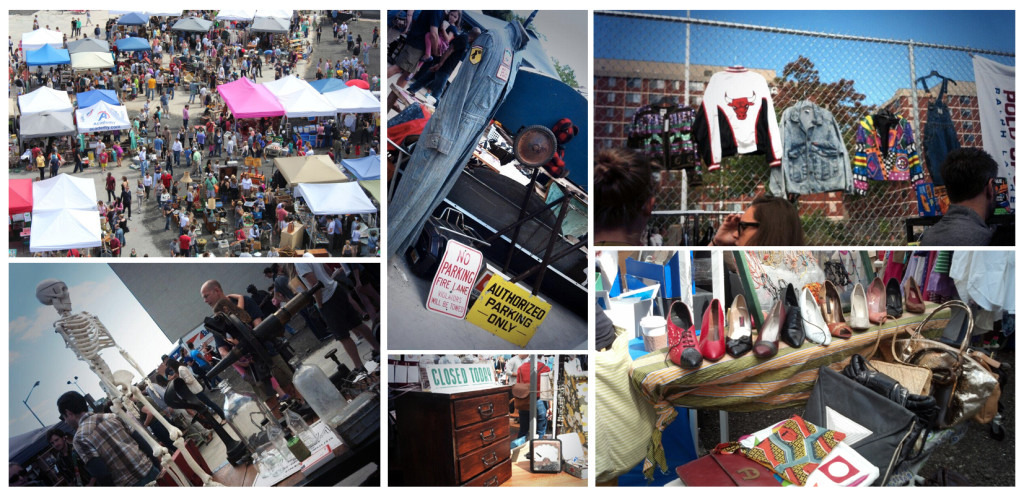 The District Flea Market on Florida Avenue is open every Saturday. (Photos: Liz Parker/DC on Heels and District Flea)