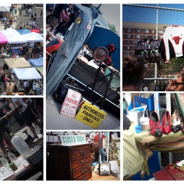 The District Flea Market on Florida Ave. is open every Saturday. (Photos via Liz Parker and District Flea)
