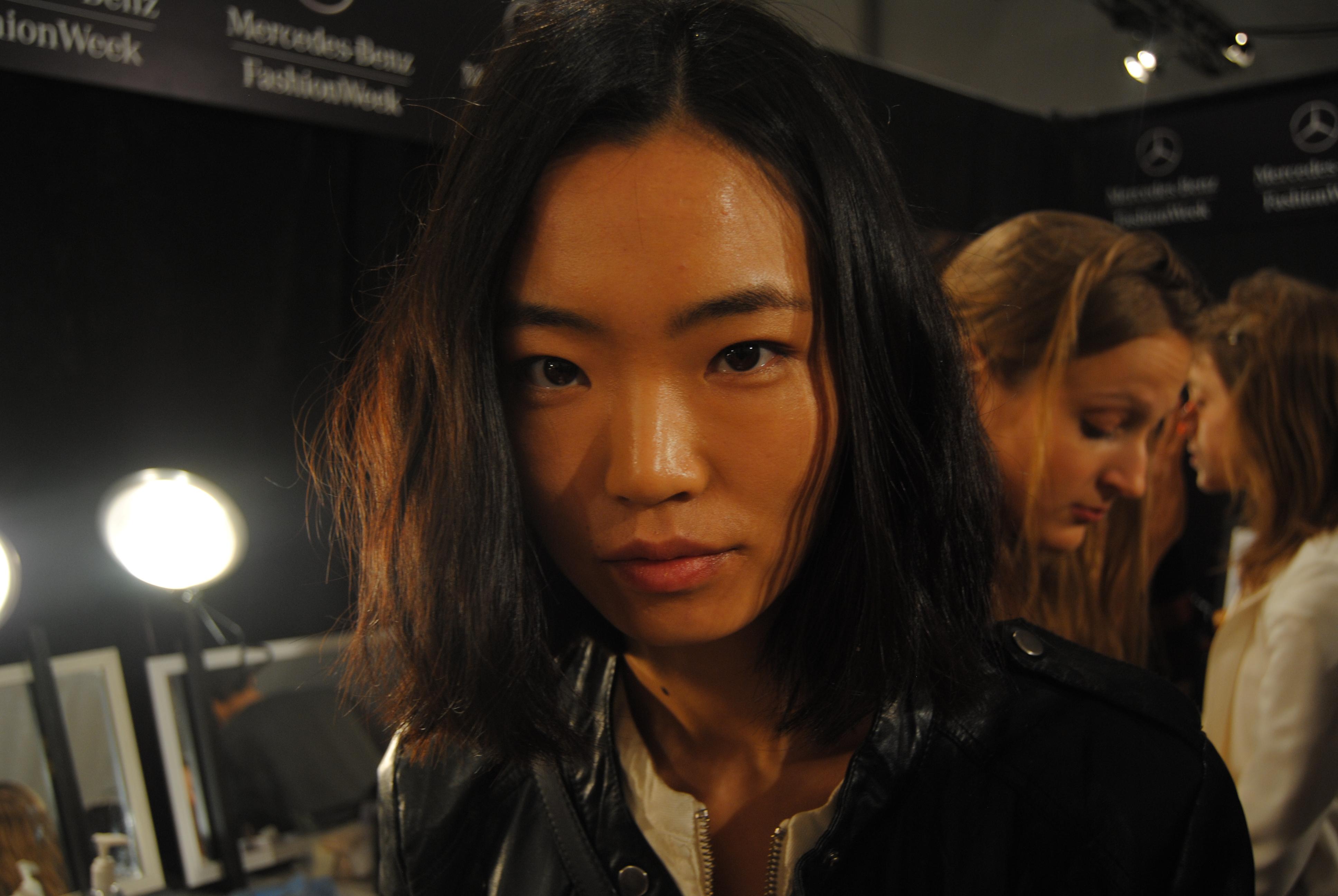 Li, before makeup (Ko Im/DC on Heels)