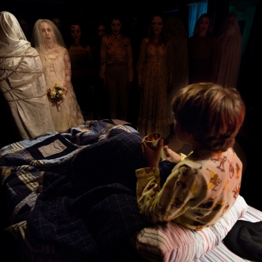 Dalton Lambert is visited by the spirits of murdered brides. (Photo: Matt Kennedy/FilmDistrict)