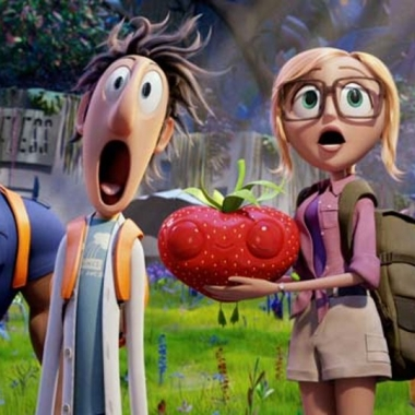 In Cloudy with a Chance of Meatballs 2, the food comes alive and takes over. (Photo: Sony Pictures)