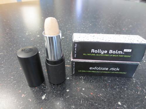 Exfoliate Stick + Rallye Balm= Smooth lips (Photo: Lia Phipps/DC on Heels)