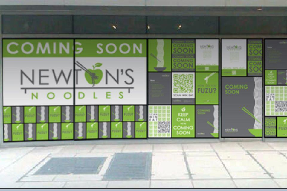Newton's Noodles on 20th Street NW will open Sept. 19. (Photo: Newton's Noodles)