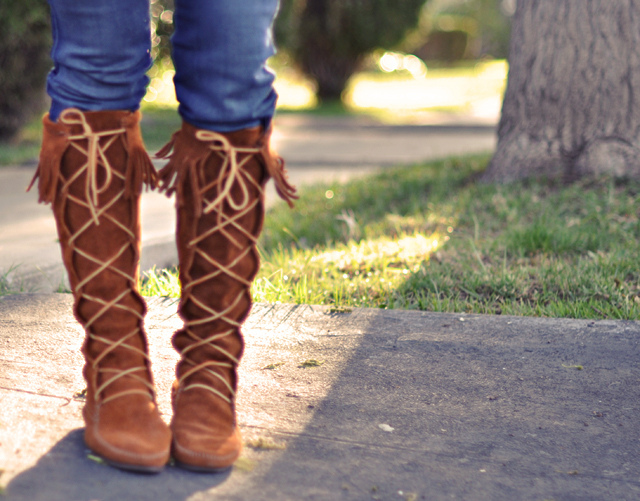 Boots are versatile, practical and stylish too. (Photo: Love Meagan/Flickr)