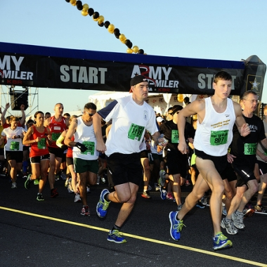 The start of the 2012 Army Ten-Miler.(Photo: Army Ten-Milers Filckr)