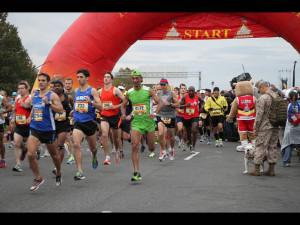The start of the 2012 Marine Corps Marathon. (Photo: Marine Corps Marathong/Flickr)