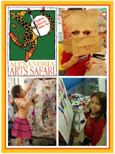 The Torpedo Factory Art Center is sponsoring a children's Arts Safari this Saturday. (Graphic:  Torpedo Factory Arts Center)