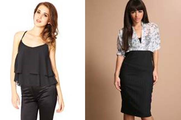 Tapered trousers with a camisole style top or a pencil skirt with a sparkly blouse are comfortable, casual options. (Photo: Discover Media)