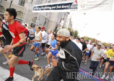 The 2012 AIDS Walk Washington. (Photo: Ward Morrison/Metro Weekly)