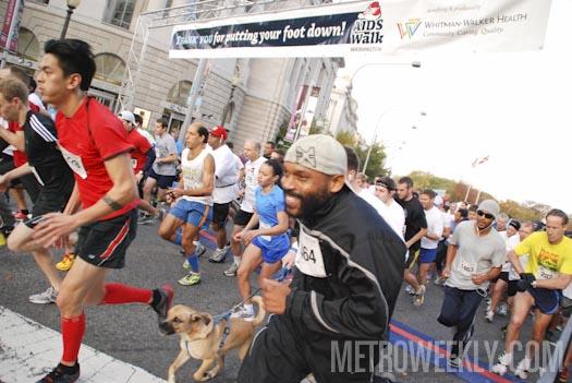 The 2012 AIDS Walk Washington. (Photo: Ward Morrison/Metro Weekly)