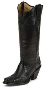 black tony roma cowboy boot