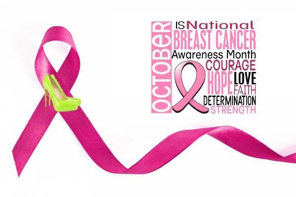 October is National Breast Cancer Awareness Month. (Illustration: Mark Heckathorn/DC on Heels)