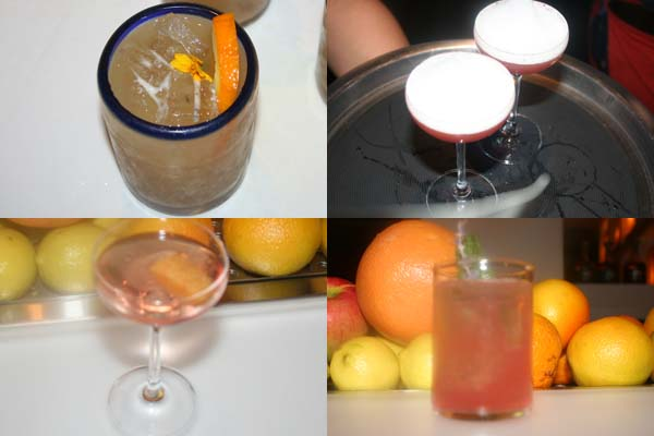 Special Day of the Dead drinks include (clockwise) atole rico, pato borracho, rescucito and cempasuchil. (Mark Heckthorn/DC on Heels)