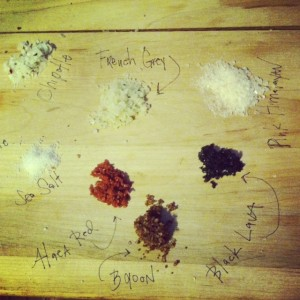 With so many kinds of salts, what's the best for your dish? (Kristy McCarron/DC on Heels)