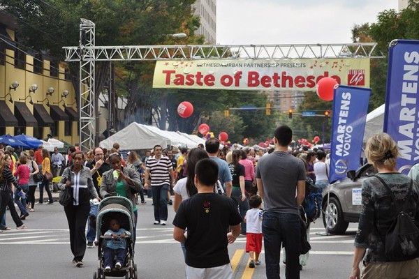 Taste of Bethesda is a food lover's delight! (Photo via bethesdanow.com)