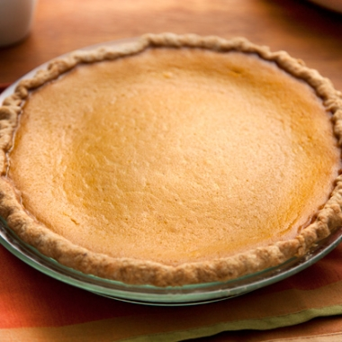 Pumpkin pie (Photo: Chow)