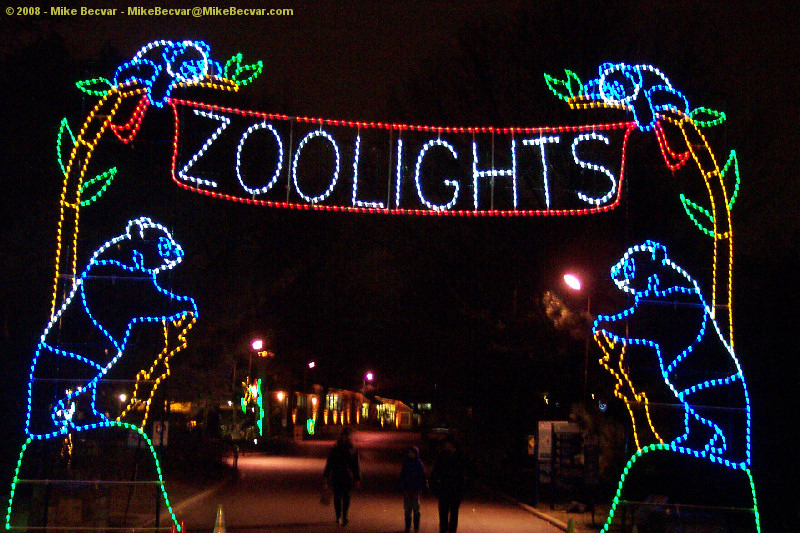 Be dazzled by all the lights at the National Zoo's ZooLights. (Photo: Mike Becvar)
