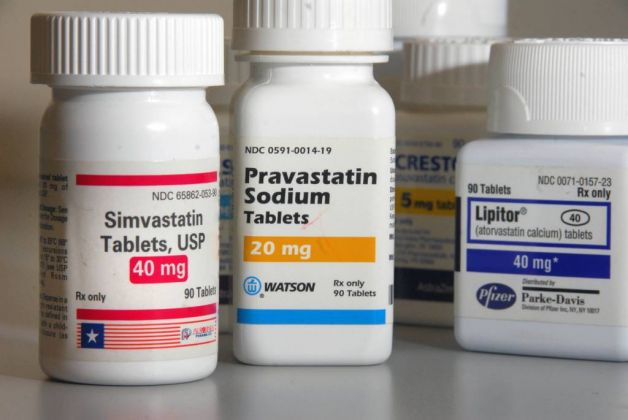 A few of the statin drugs currently on the market.