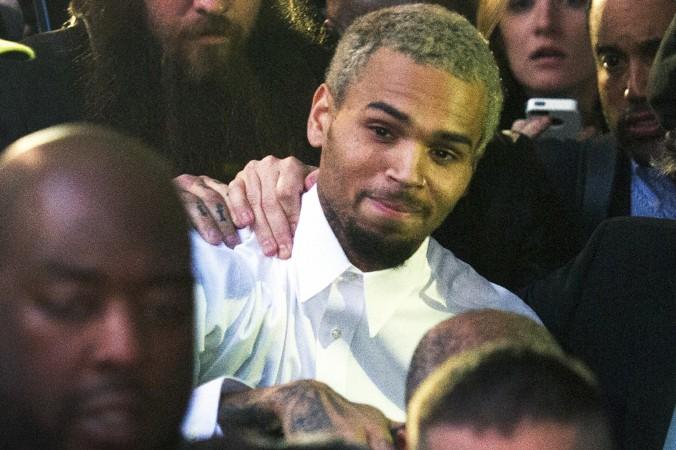 dcoonheels-mark heckathorn-celebrity-Singer Chris Brown Leaves Rehab-November 2013