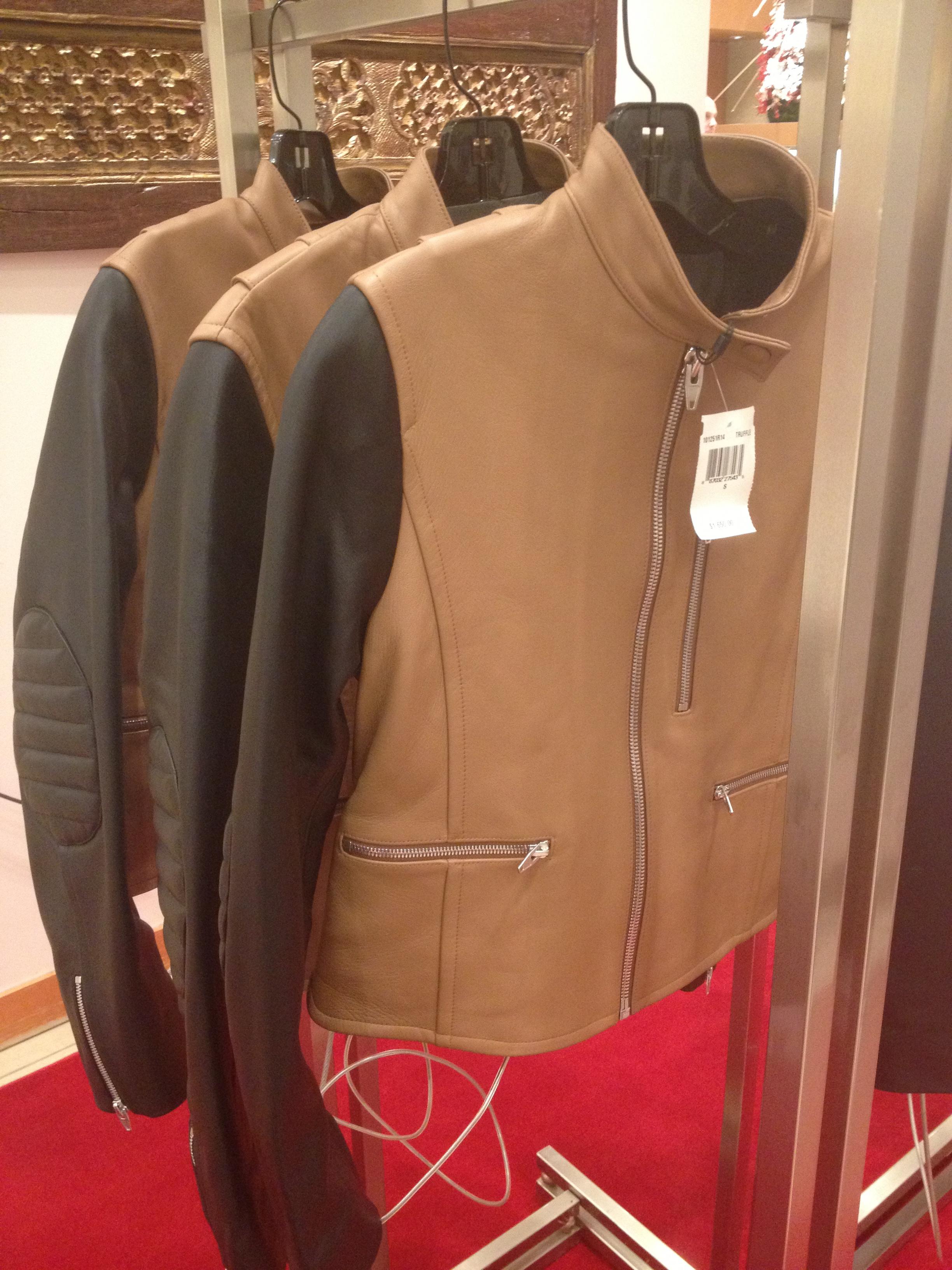 Alexander Wang jacket (Photo: Erica Moody/DC on Heels)
