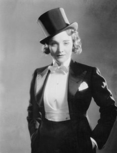 """Marlene Dietrich's costume from Morocco is included in """"Hollywood Costumes"""" at VMFA. (Photo: Paramount)"""