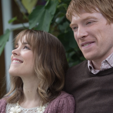 Rachel McAdams and Domhnall Gleeson star in About Time. (Photo: Universal Pictures)