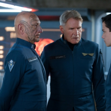 Ben Kingsley, Harrison Ford and Asa Butterfield star in