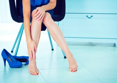 High heels might boost your height and slim your calves, but they can lead to long-term damage of your feet. (Photo: wittyburg.com)