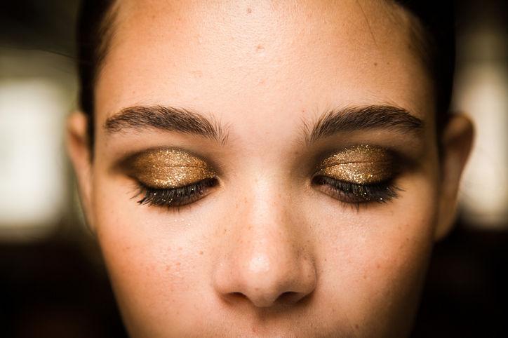 Makeup at the Jason Wu show (Photo: Mark Liebovitz)
