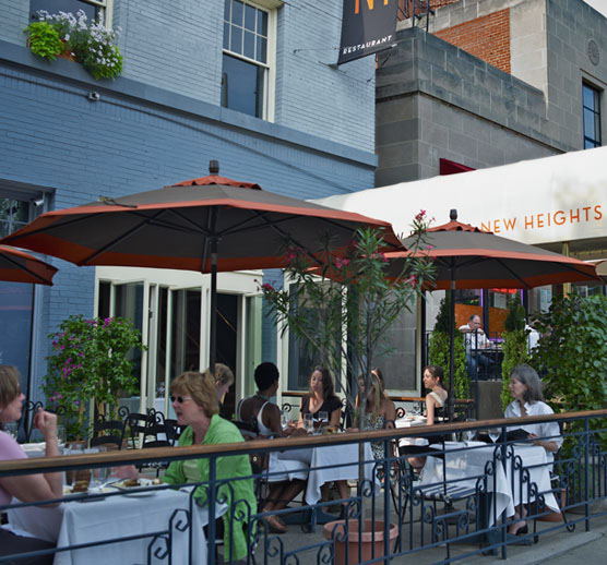 New Heights in Woodley Park has been a neighborhood highlight for 27 years (Photo: New Heights)