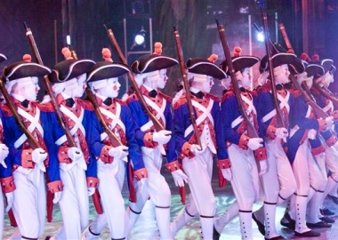 Students of The Washington School of Ballet in Septime Webre's The Nutcracker. (Photo: Stephen Baranovics)