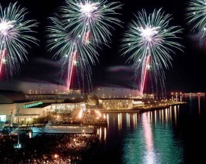Fireworks over the Annapolis Harbor in 2012. (Photo: annapolis.com)