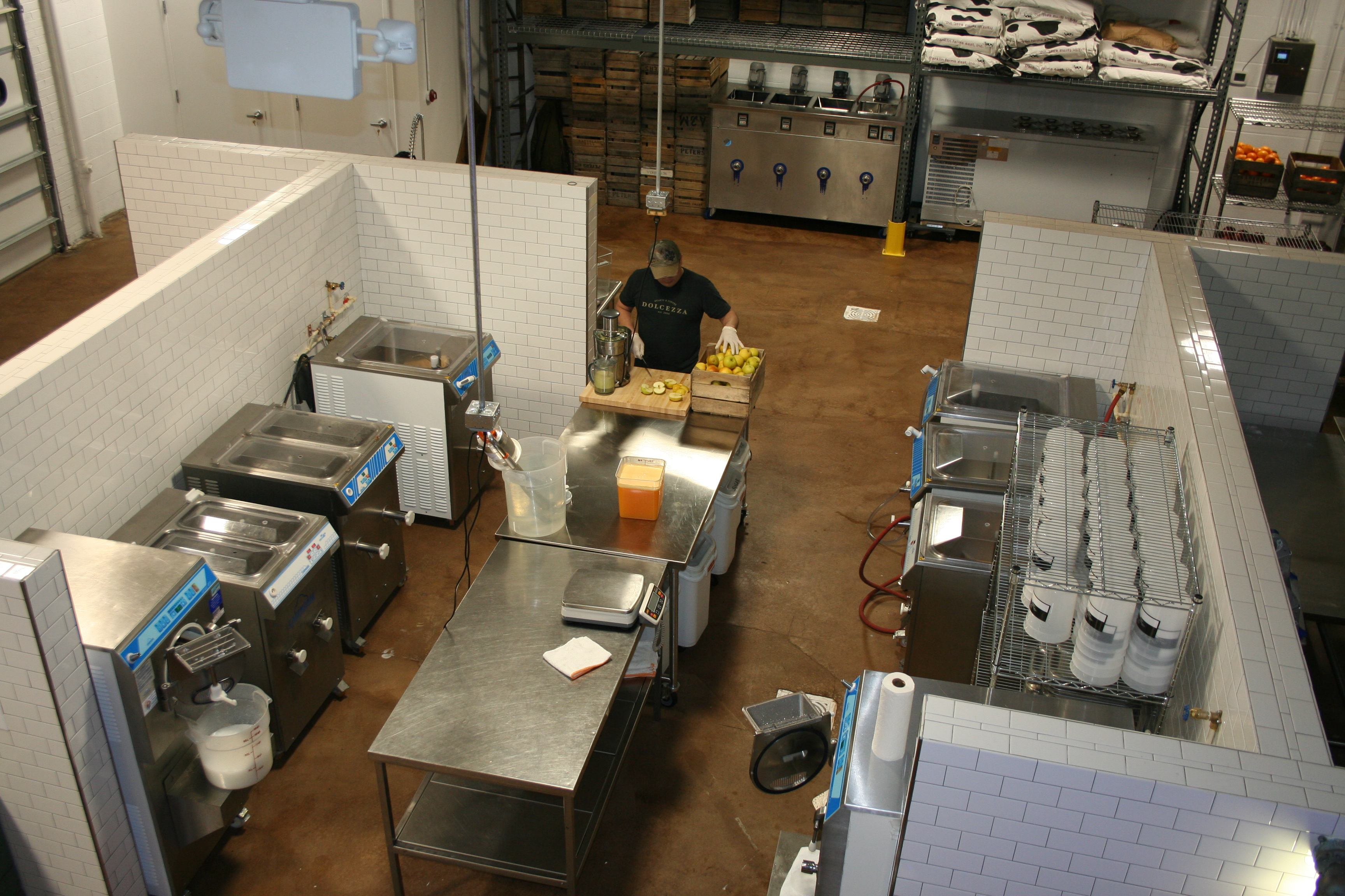 The Dolcezza gelato factory opens to the public this weekend. (Photo: Mark Heckathorn/DC on Heels)