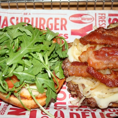 Smashburger's Capital burger. (Photo: Mark Heckathorn/DC on Heels)