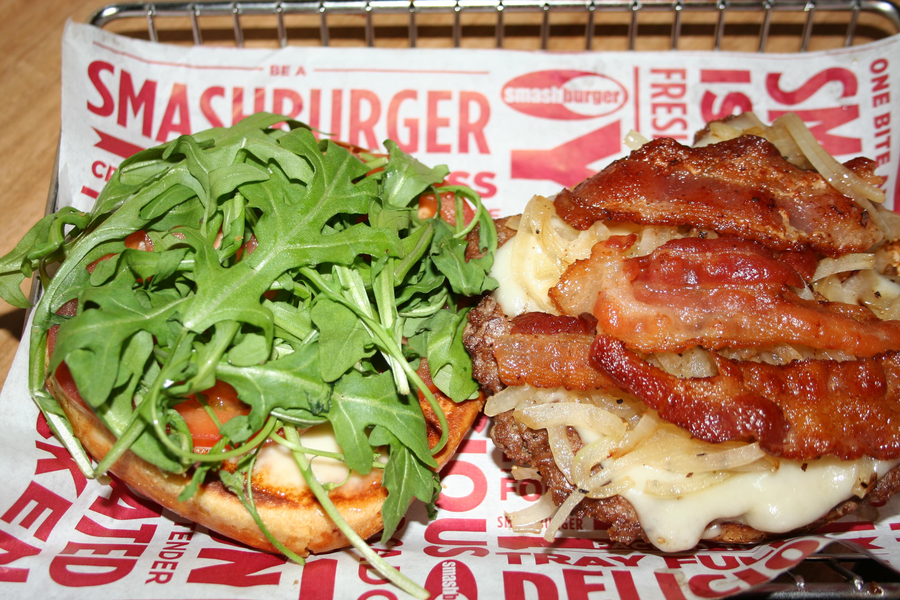 Smashburger's Capital burger. (Photo: Mark Heckathorn/DC on Heels)