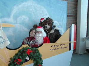 The Santa Fly-In at the College Park Aviation Museum (Photo: Rachel Cooper)