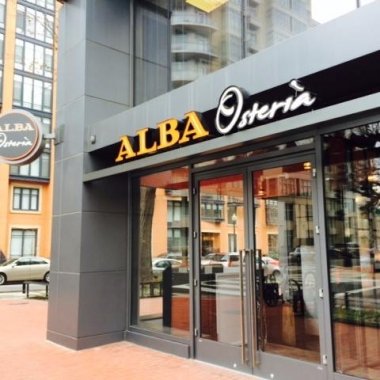 the exterior of Alba Osteria. (Photo: Urban Living)