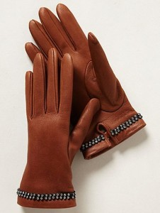 Marzipan Leather Gloves (Photo: Anthropologie)