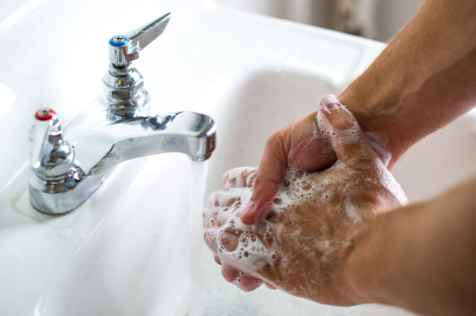 Could antibacterial soap be bad for you? (Photo: Michigan State University)
