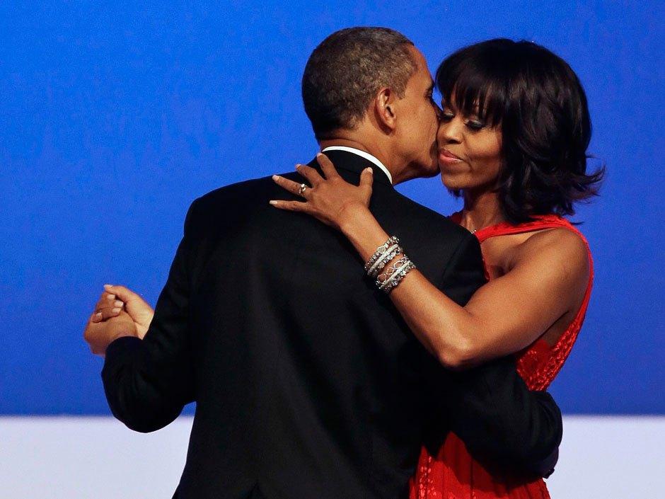 Michelle Obama at inaugural ball (Photo: AP)