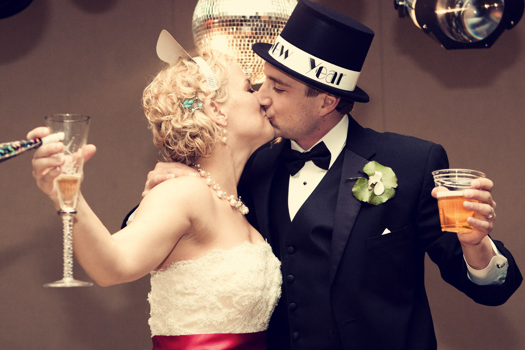 Don't miss out on your New Year's Eve kiss. (Photo: Formal Room)