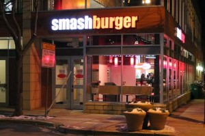 The new Smashburger at 4903 Cordell Ave. in Bethesda. (Photo: Mark Heckathorn/DC on Heels)